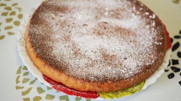 Постный пирог с апельсинами - фото шаг 10