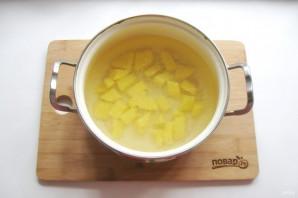 Куриный суп с зеленью - фото шаг 3