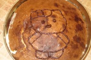 Торт на день рождения девочке 4 года - фото шаг 6