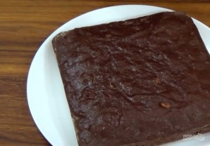 Постный шоколадный манник - фото шаг 3