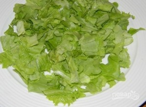 Салат с киви и курицей - фото шаг 3