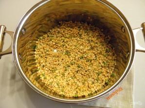 Гороховый суп с копчеными рёбрышками - фото шаг 2