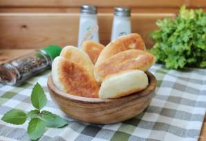 Жареные пирожки с картофелем и печенью - фото шаг 12