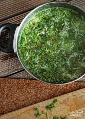Зеленый суп с щавелем - фото шаг 8
