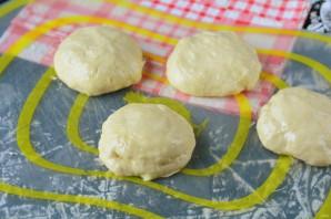 "Пирожки ""Лапти"" с картошкой - фото шаг 11"