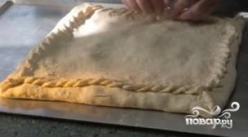 Пирог с капустой и грибами - фото шаг 9
