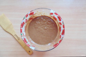 """Шоколадный торт с кремом """"Пломбир"""" - фото шаг 7"""