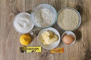 Грильяжное печенье с кунжутом - фото шаг 1