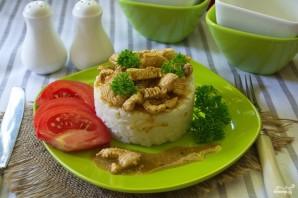 Рис с курицей под соусом - фото шаг 4