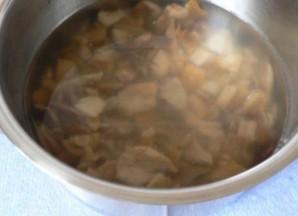 Суп из соленых грибов   - фото шаг 1