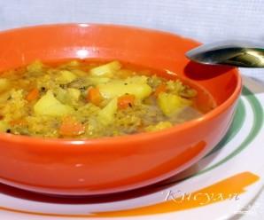 Суп из чечевицы с мясом - фото шаг 11