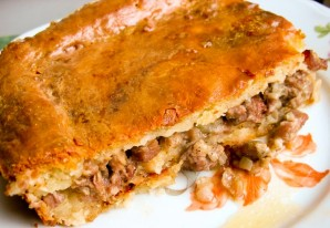 Пирог с бараниной - фото шаг 11