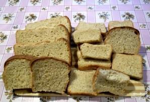 Запеканка из черствого хлеба - фото шаг 1