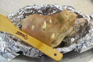 Свиная рулька в медово-горчичном соусе - фото шаг 3