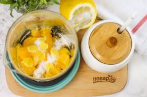 Апельсиновый чай с имбирем - фото шаг 4