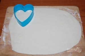 Мини-пиццы в форме сердца на 14 февраля - фото шаг 5