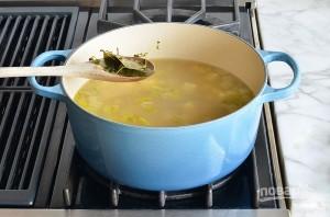 Суп-пюре с пореем - фото шаг 6