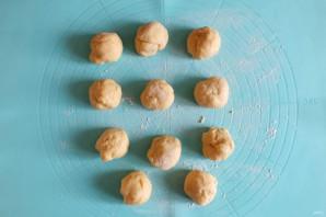Пончики с малиной - фото шаг 6