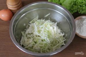 Оладьи из кабачков и капусты - фото шаг 3