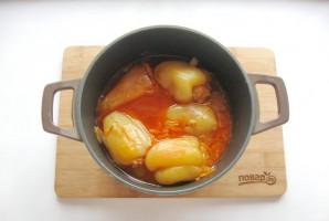Перец фаршированный мясом и кабачками - фото шаг 9