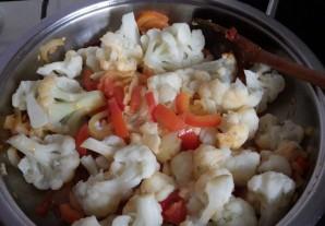 Цветная капуста в сметанном соусе - фото шаг 2