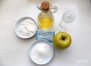 Постное печенье с яблочной прослойкой - фото шаг 1