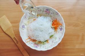 Китайский салат с крахмальной лапшой - фото шаг 8