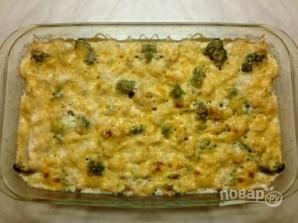 Запеканка из цветной капусты, брокколи и куриной грудки - фото шаг 7
