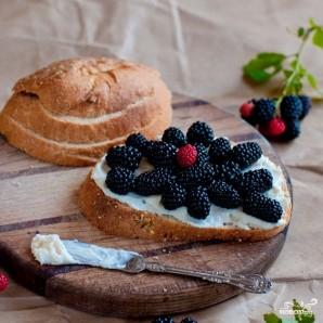 Бутерброды с ежевикой - фото шаг 4