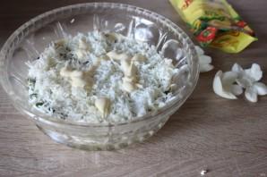 """Лучший рецепт салата """"Мимоза"""" с майонезом - фото шаг 4"""