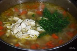 Куриный суп с перловкой - фото шаг 4