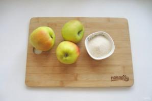 Яблоки протертые с сахаром на зиму - фото шаг 1