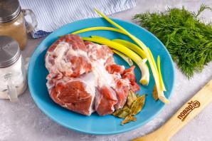 Диетическая говядина в духовке - фото шаг 1