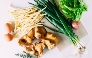 Салат с лисичками - фото шаг 1