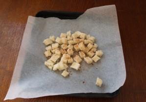Салат с кириешками и сыром - фото шаг 4