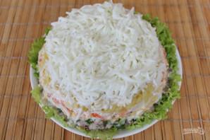 Салат с консервированной рыбой и картошкой - фото шаг 11