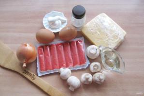 Салат из шампиньонов жареных - фото шаг 1