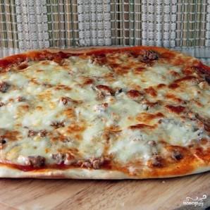 Пицца с тунцом - фото шаг 9