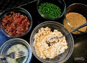 Рисовые колобки с мясом - фото шаг 1