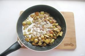Баклажаны в сливочном соусе - фото шаг 7