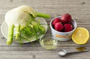 Салат с фенхелем от Джейми Оливера - фото шаг 1