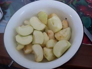 Шарлотка песочная с яблоками - фото шаг 3