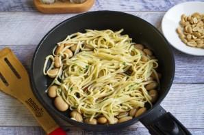 Говядина с лапшой и фасолью - фото шаг 6