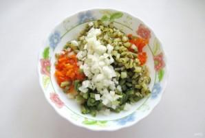 Винегрет с зеленой фасолью - фото шаг 5