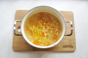 Томатный суп с фасолью и курицей - фото шаг 7