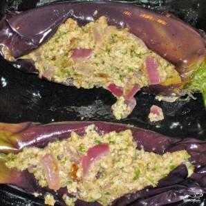 Баклажаны сациви с грецкими орехами - фото шаг 6