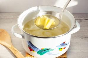 Куриный суп с сырными фрикадельками - фото шаг 5
