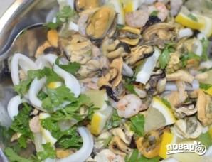 Ассорти из морепродуктов - фото шаг 4