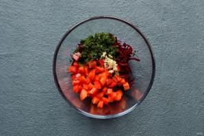Салат из свеклы и брокколи - фото шаг 3