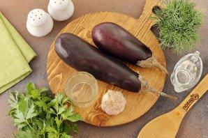 Постная закуска из баклажанов - фото шаг 1